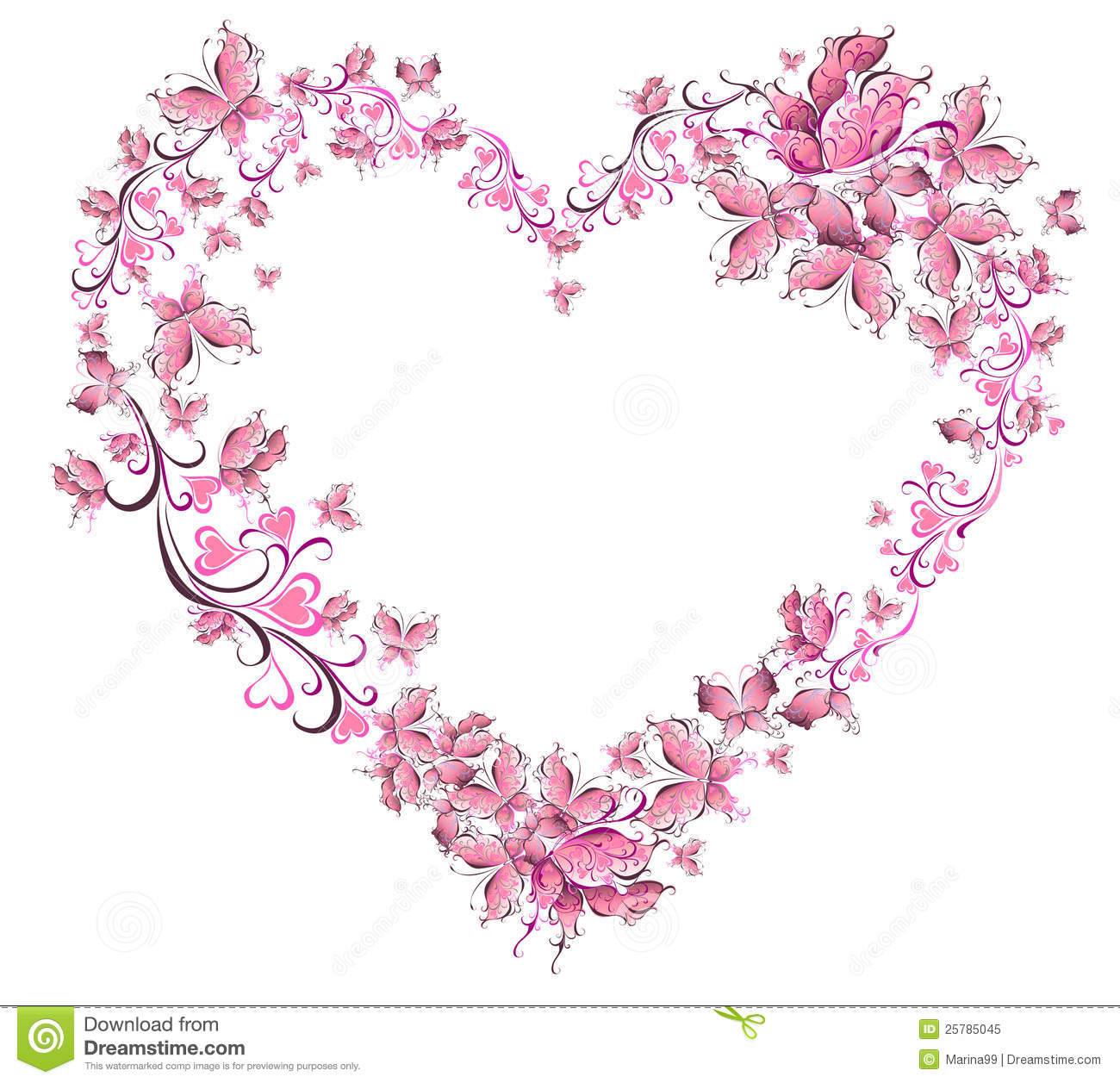 Valentines Heart Royalty Free Stock Photo Image 25785045