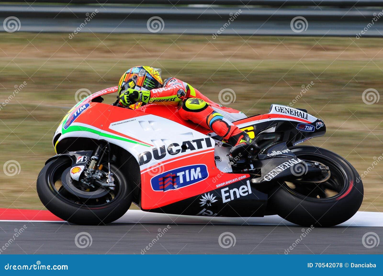 Circuit Italia Motogp : Valentino rossi ducati motogp editorial photo