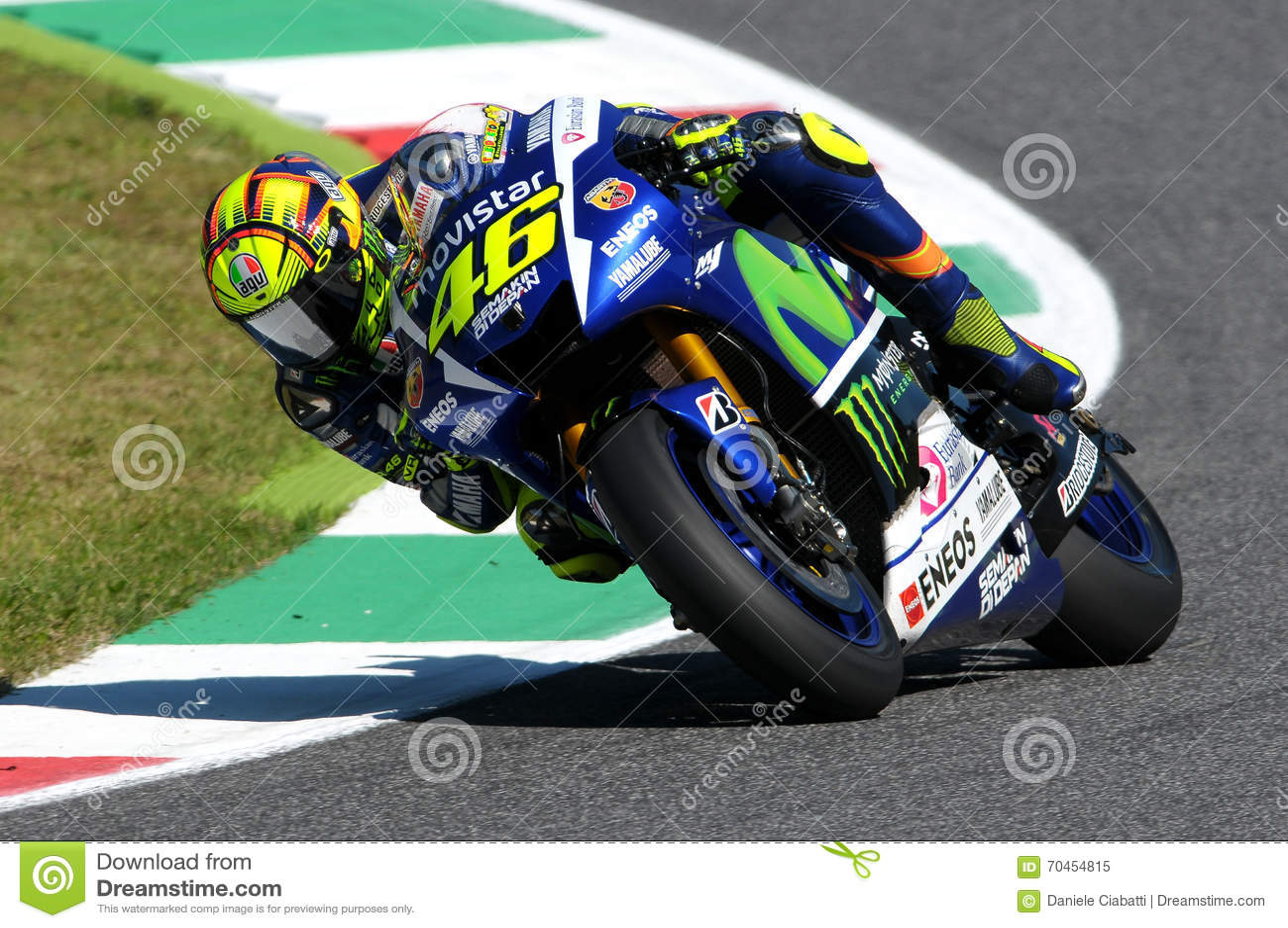 MOTOGP 2015, Valentino Rossi Editorial Image | CartoonDealer.com #53684128