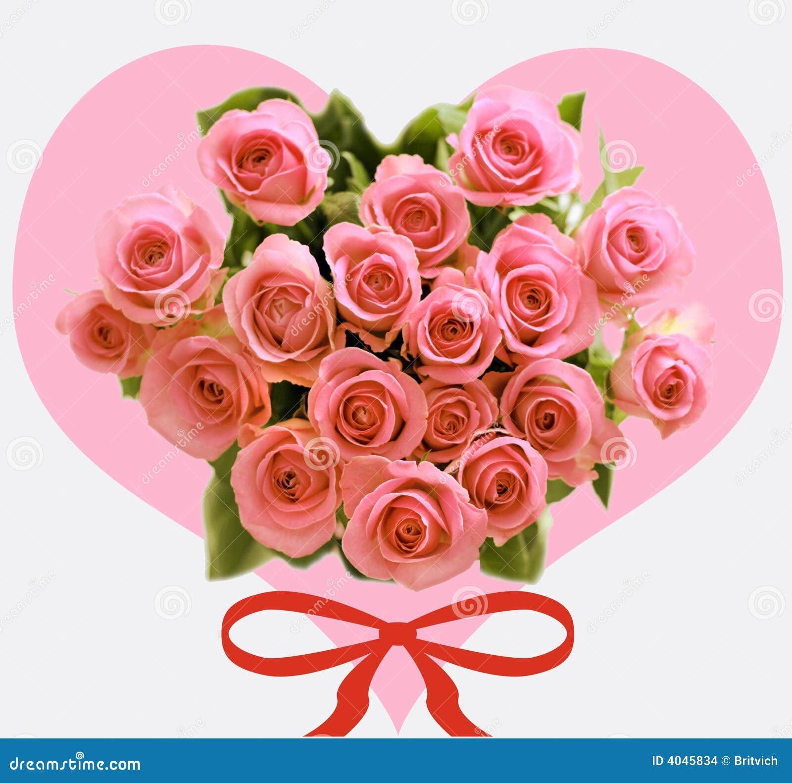 valentins rosen stockbilder bild 4045834. Black Bedroom Furniture Sets. Home Design Ideas