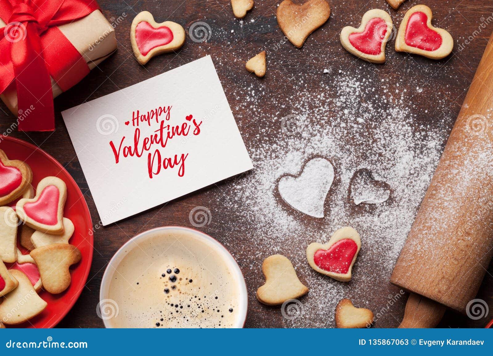 Valentinsgruß `s Tagesgrußkarte