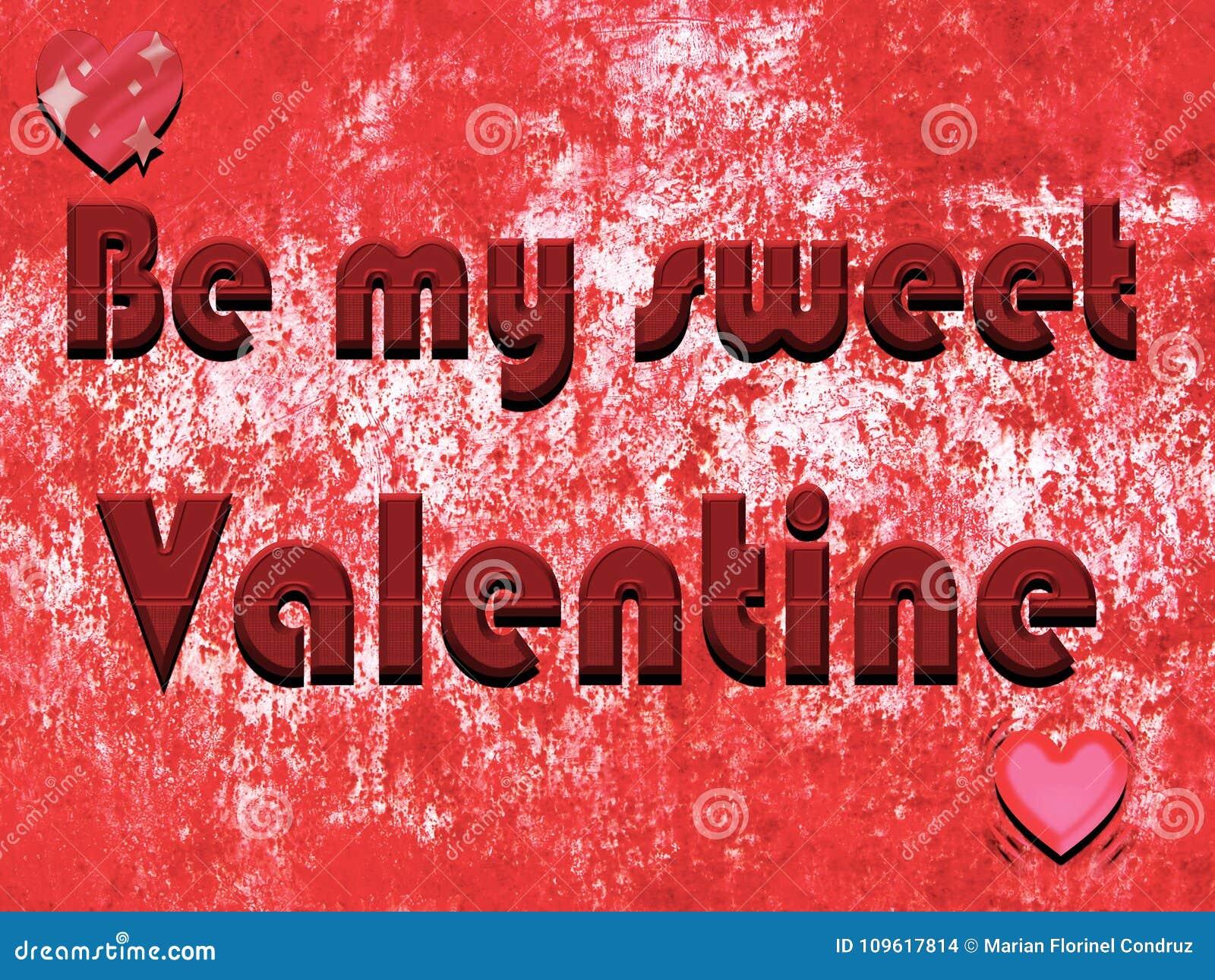 Valentinsgruß ` s Tageshintergrund mit Schokolade beschriftet Beschaffenheit