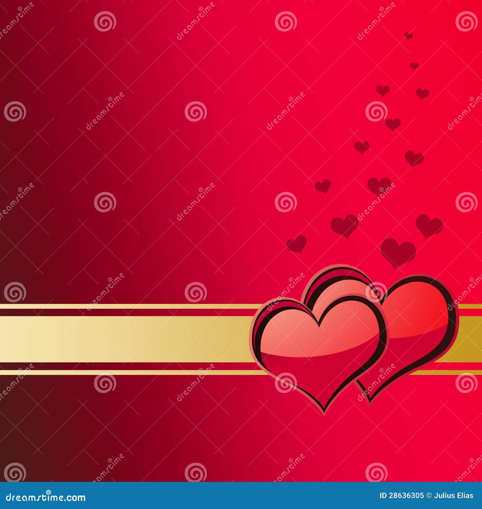 Valentinsgruß-Tageskarte 1