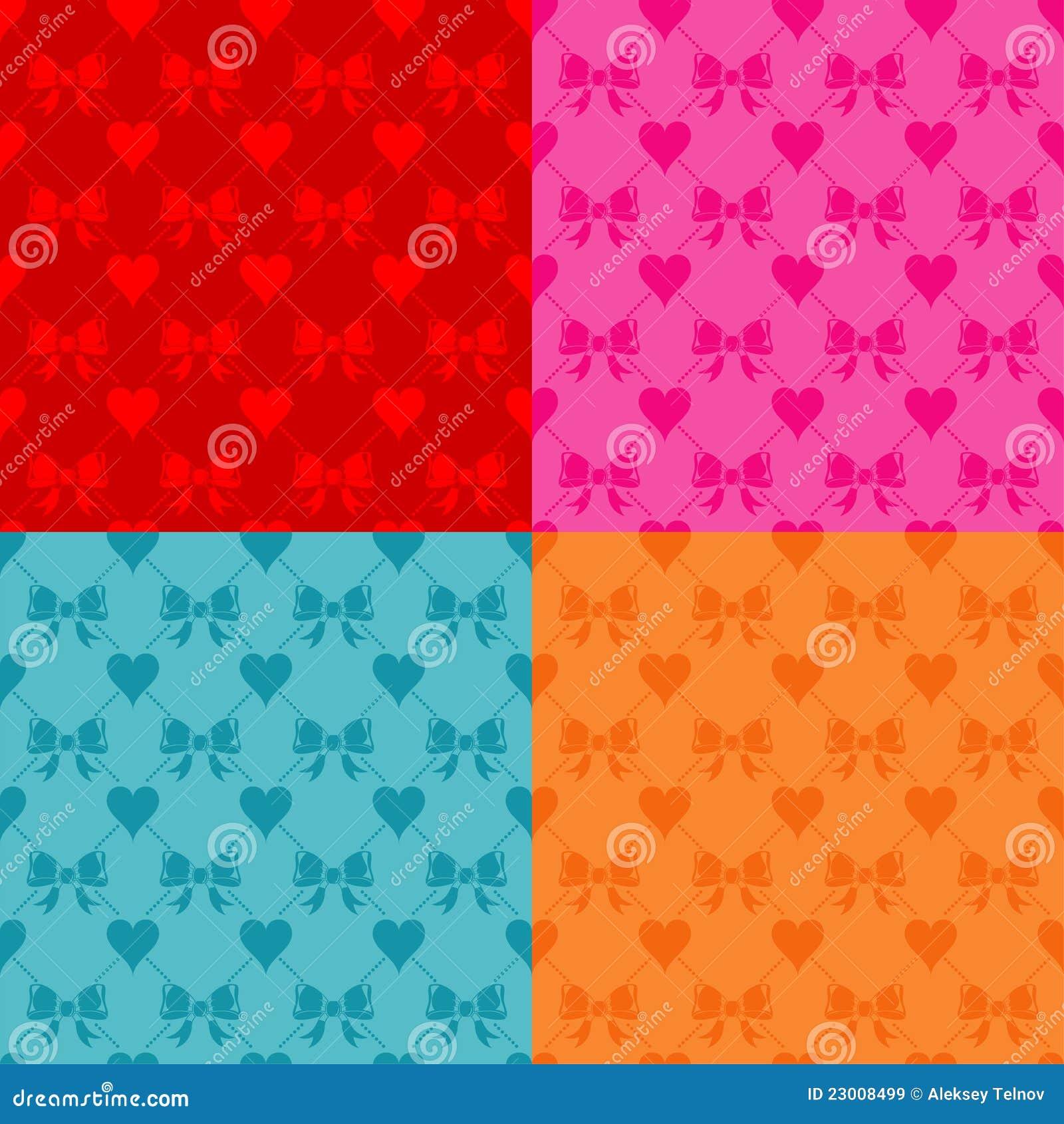 Valentinsgruß-Tagesnahtloses Muster