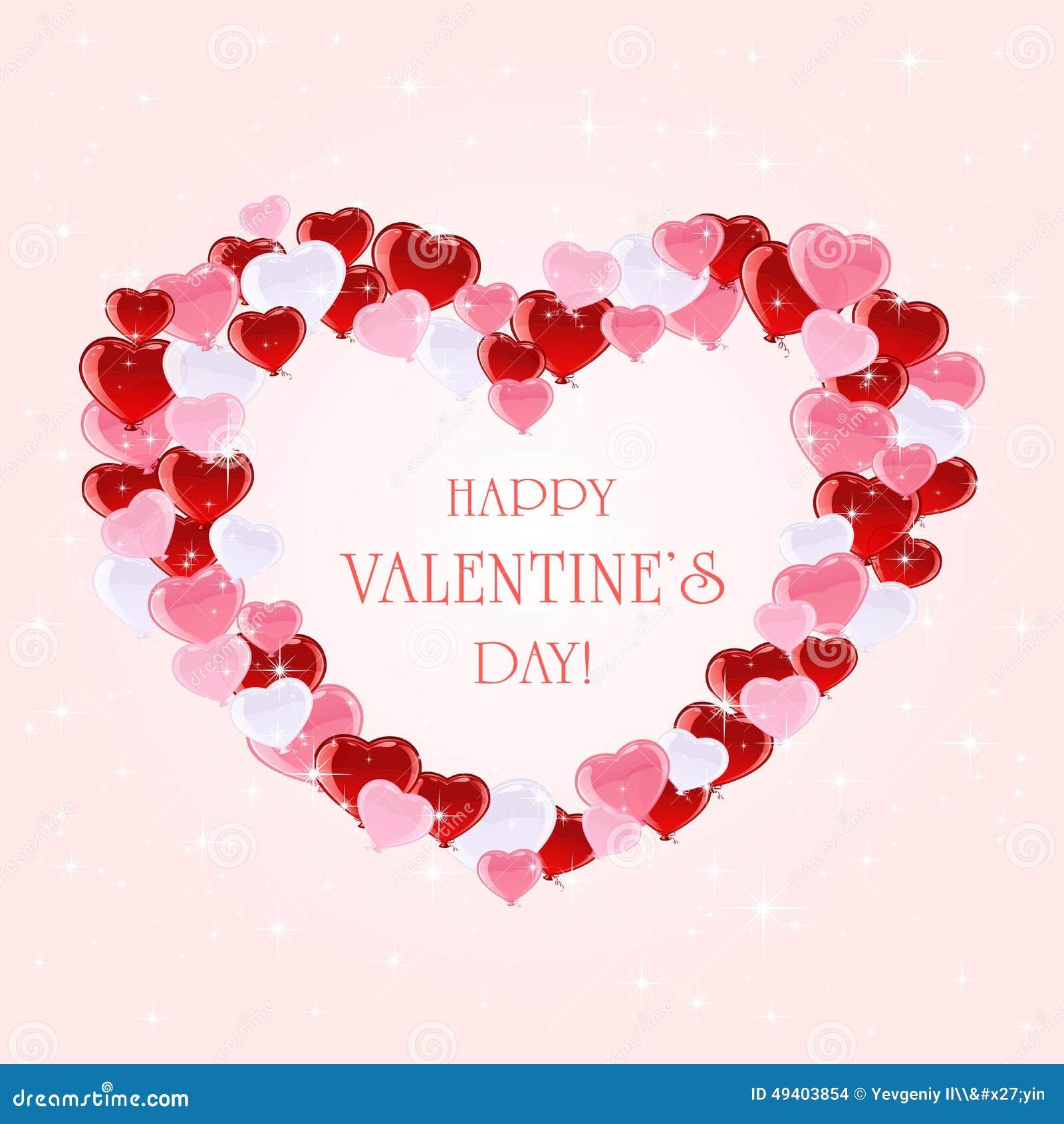 Download Valentinsgrußhintergrund Mit Inneren Und Sternen Vektor Abbildung - Illustration von mütter, fall: 49403854