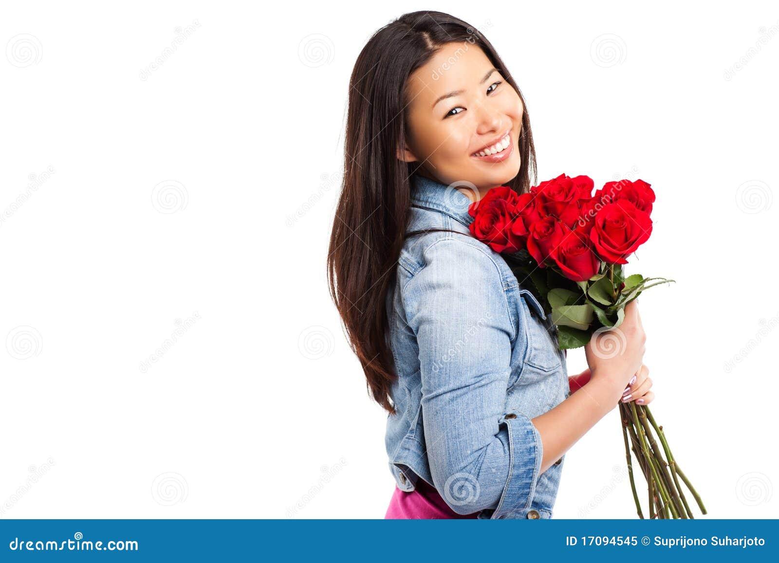 Valentinsgrußmädchen