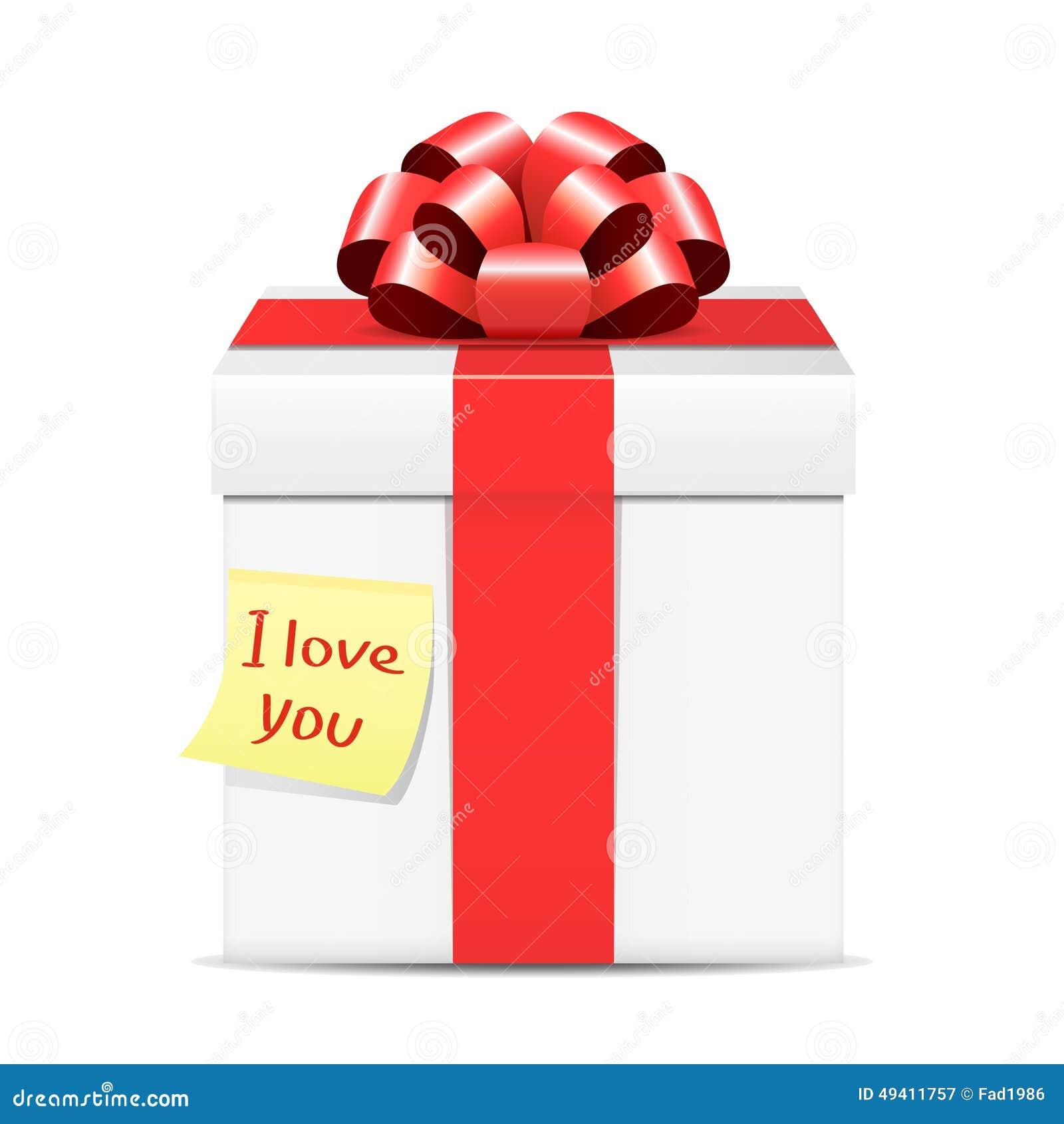 Download Valentinsgrußtagesgeschenkbox Vektor Abbildung - Illustration von papier, liebe: 49411757