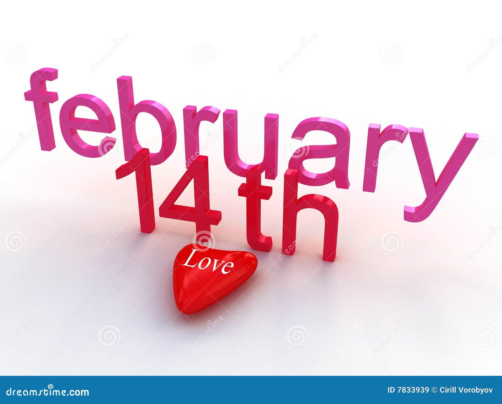Feb 14th Valentines Day