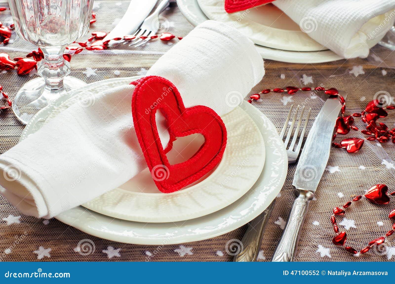 Valentinstaggedeck