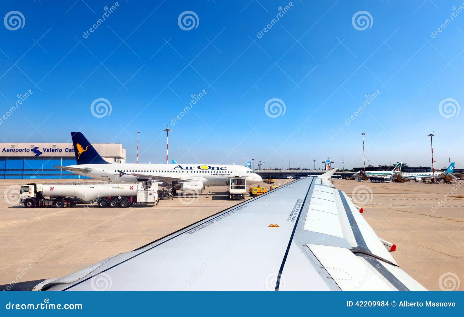 Valerio Catullo Airport - Verona Italy Editorial Stock ...