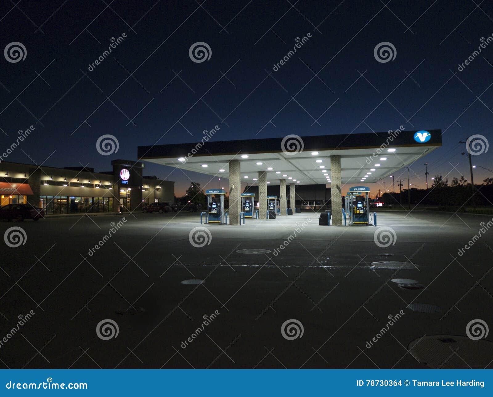 Valero bensinstation, Fort Smith, Arkansas