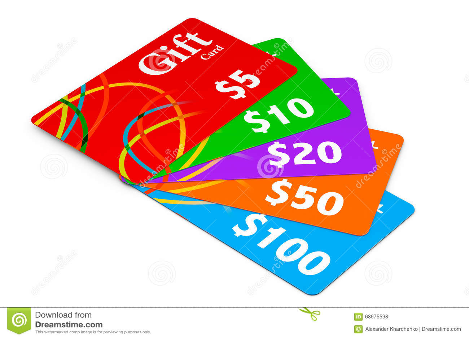 Vales-oferta Multicolour