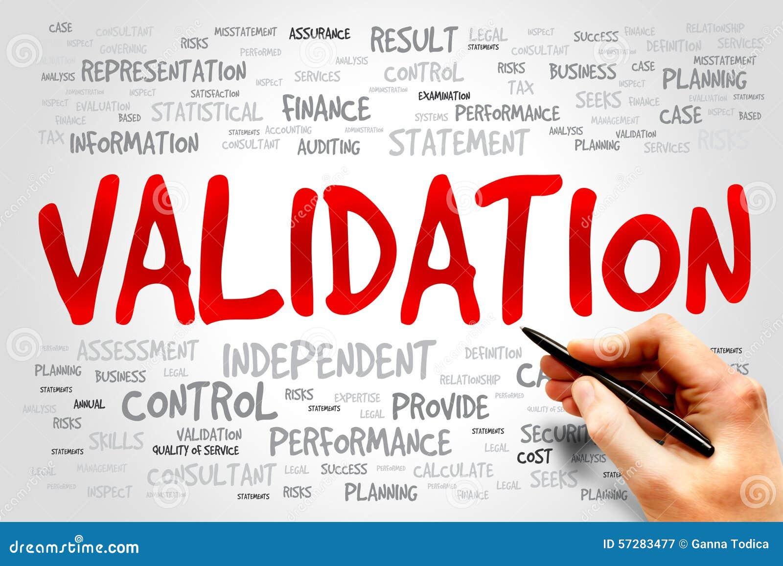 Validation Stock Photo Image 57283477