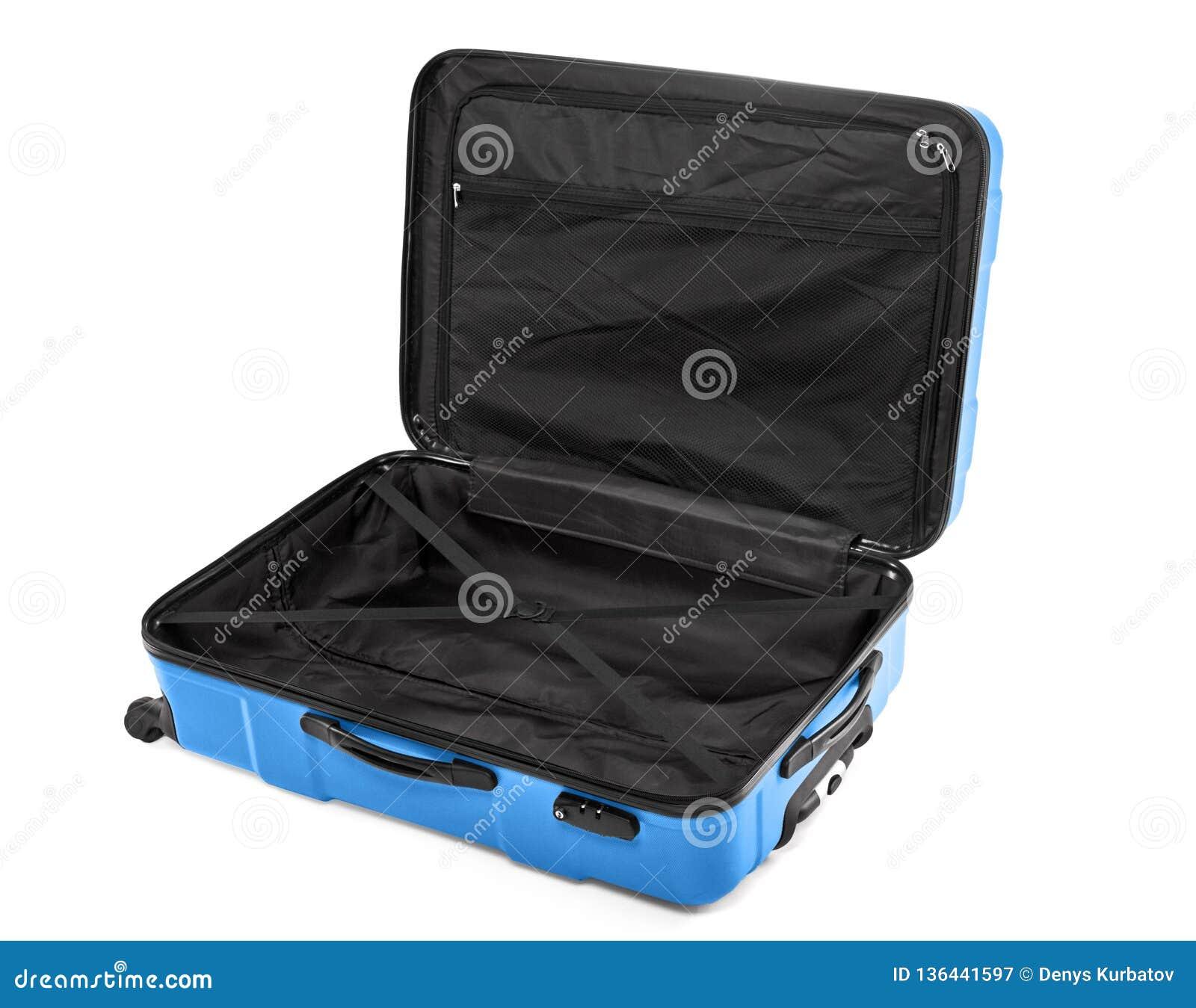 1d2902307c Valigia vuota aperta immagine stock. Immagine di viaggio - 136441597