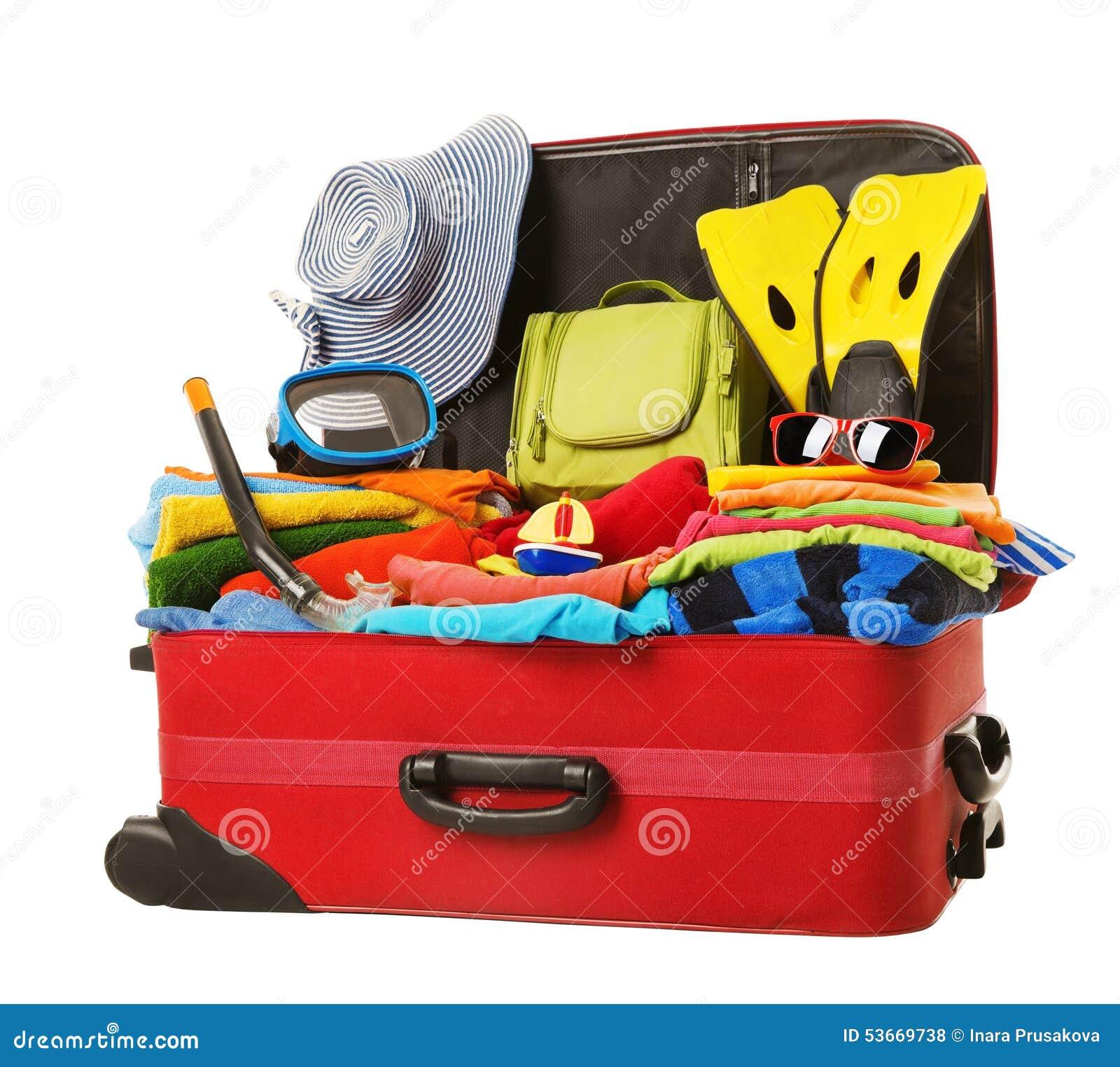 https://thumbs.dreamstime.com/z/valise-emball%C3%A9e-aux-vacances-bagage-rouge-ouvert-compl%C3%A8tement-de-v%C3%AAtements-53669738.jpg