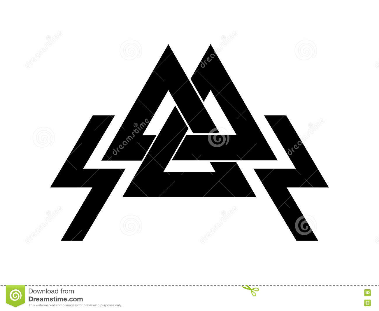 Valknut is a symbol of the worlds end of the tree yggdrasil sign valknut is a symbol of the world s end of the tree yggdrasil sign of the god odin biocorpaavc