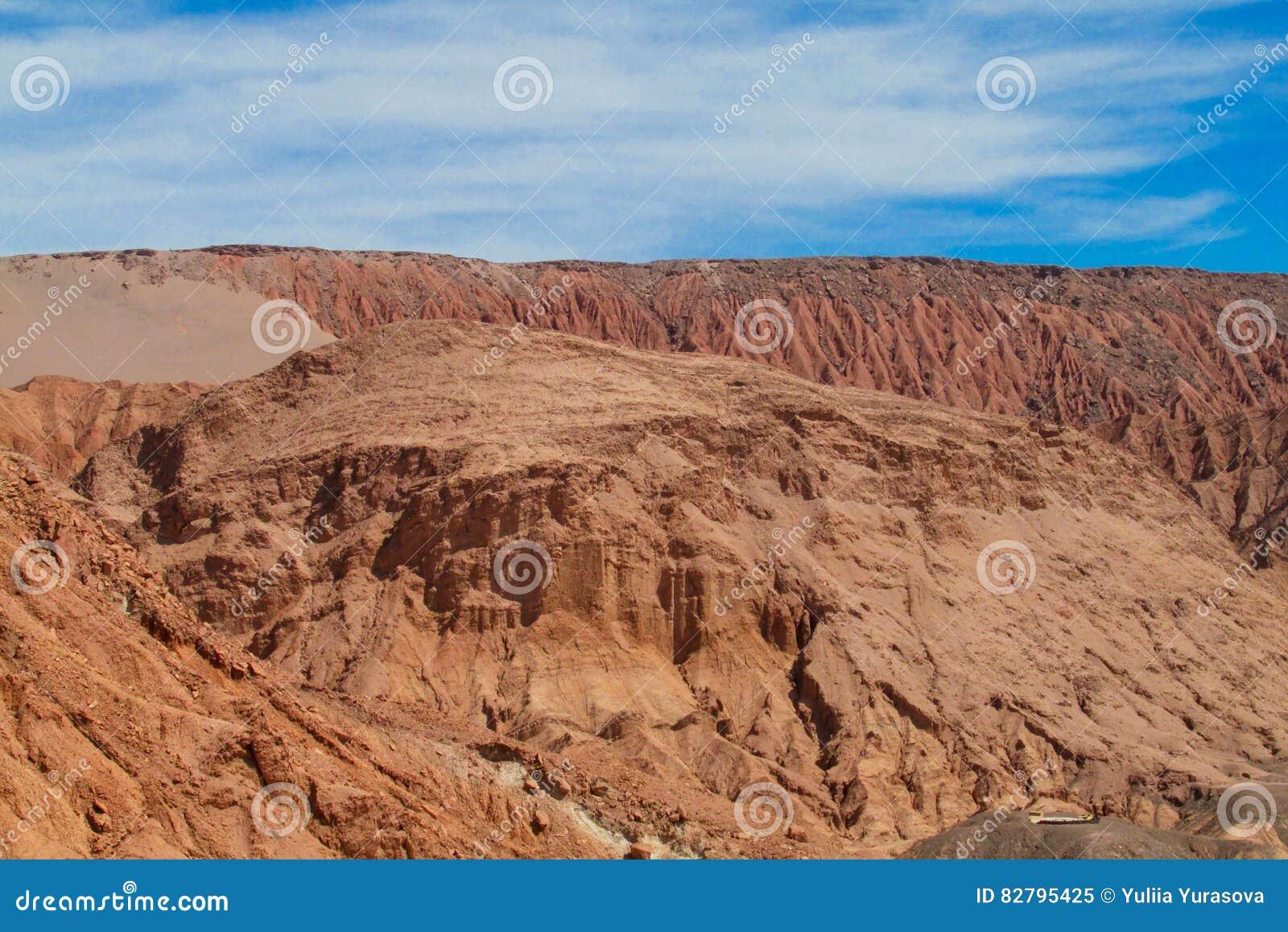 Vallée aride de désert d Atacama