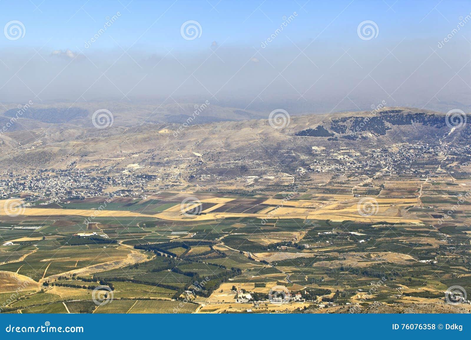 Vallée de Beqaa, Liban