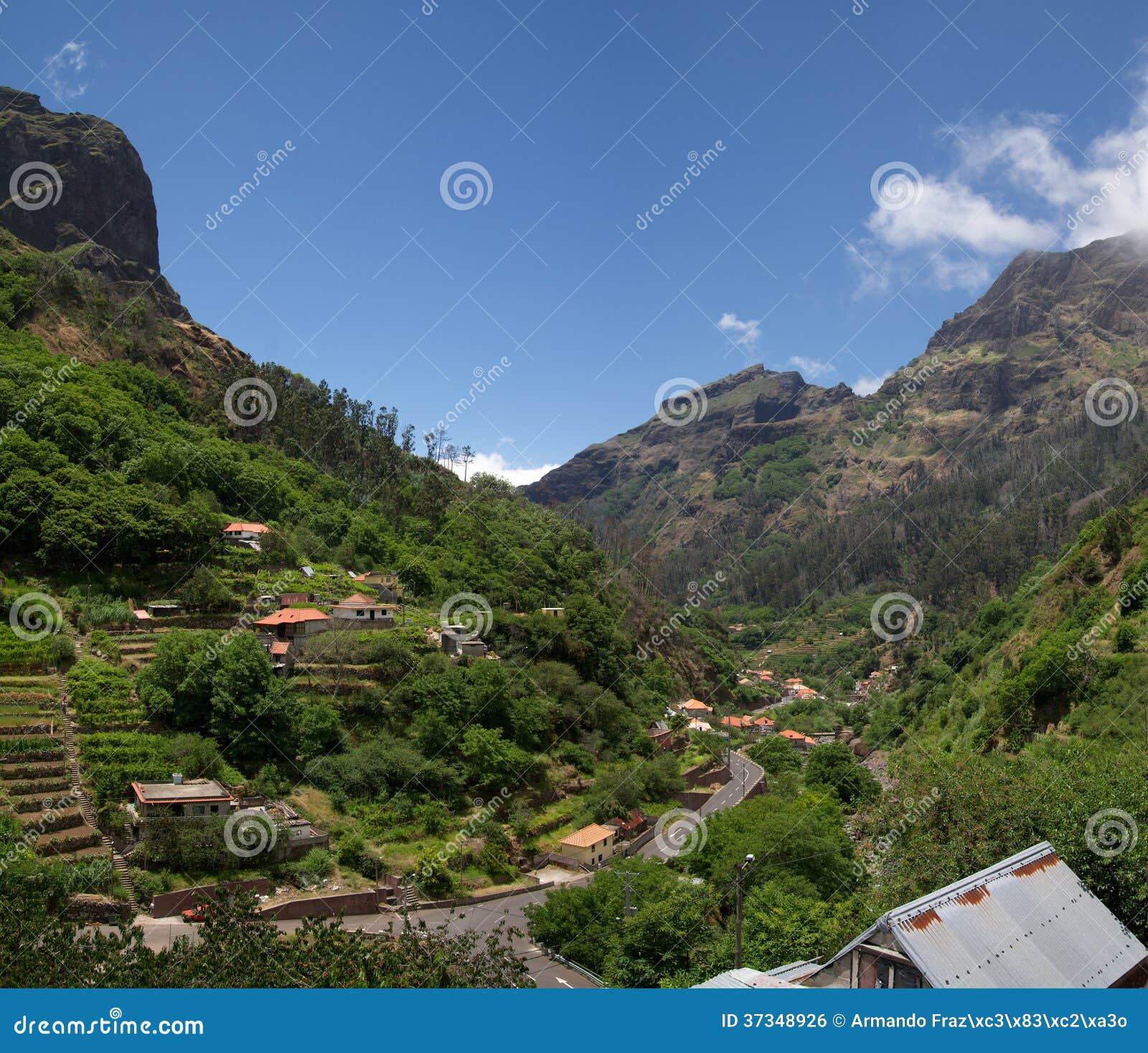 Vallée de Curral DAS Freiras, Madère