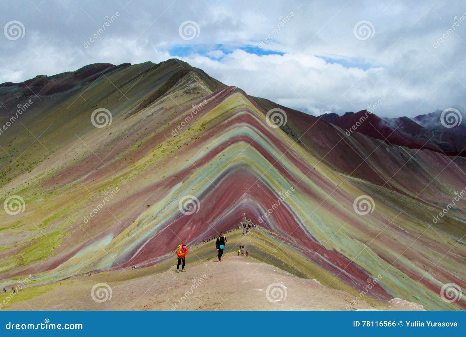Vallée de Siete Colores près de Cuzco