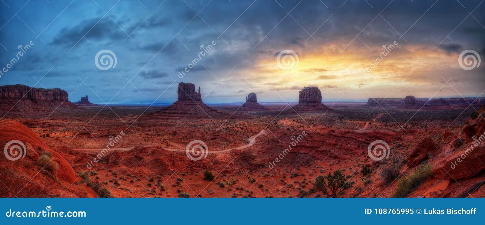 Vallée Etats-Unis de monument