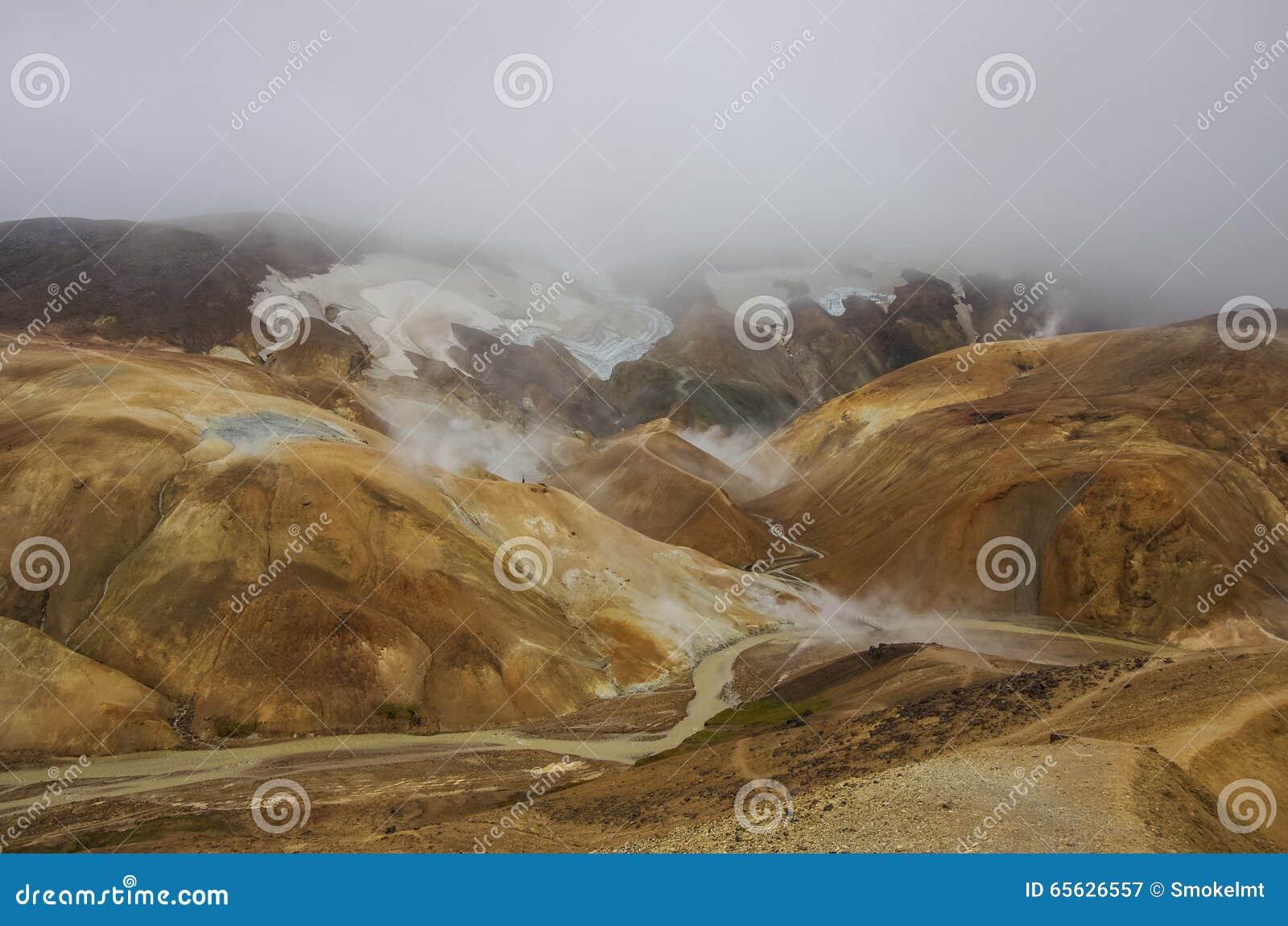 Vallée géothermique Kerlingarfjoll