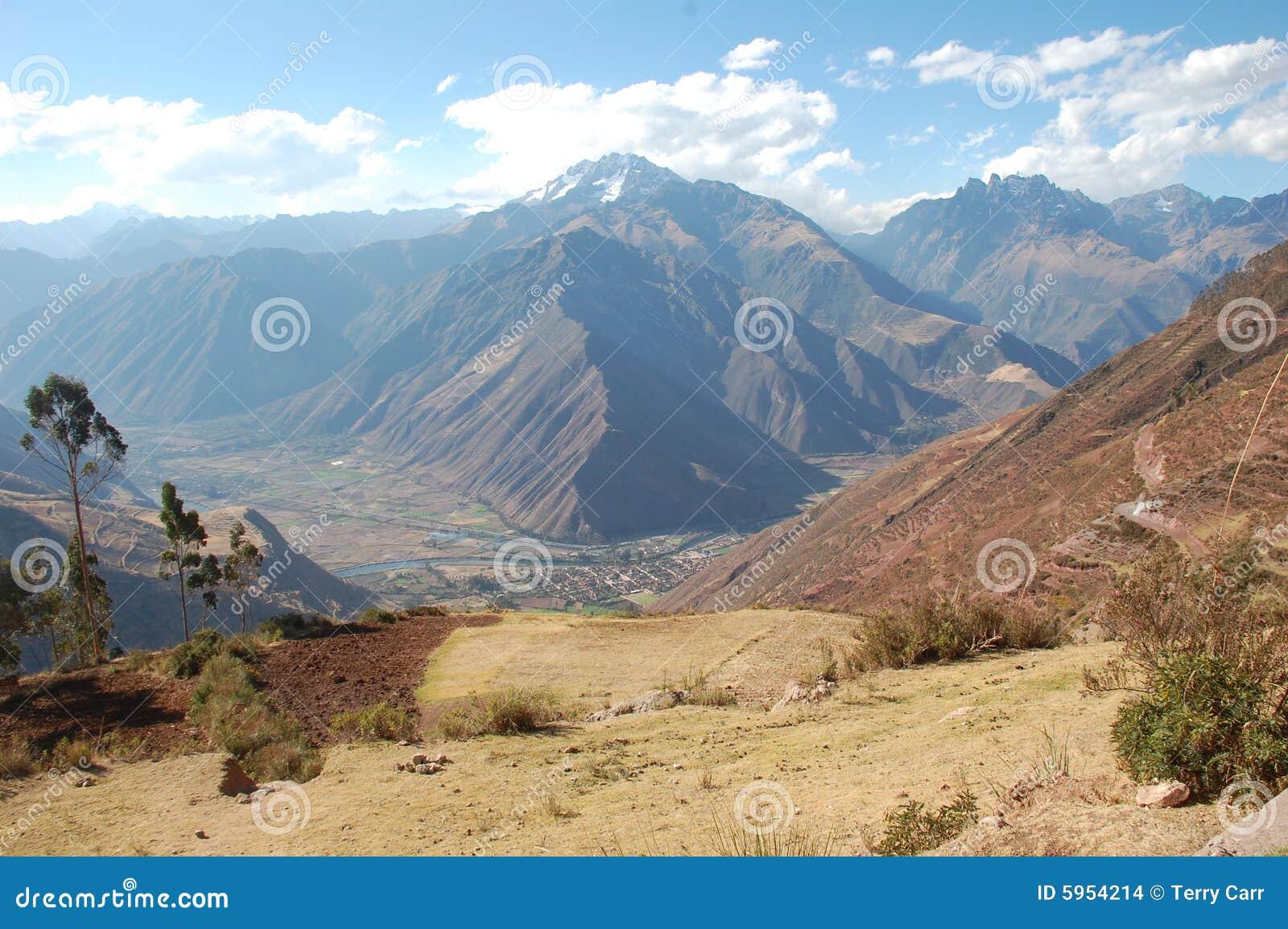 Vallée sacrée au Pérou