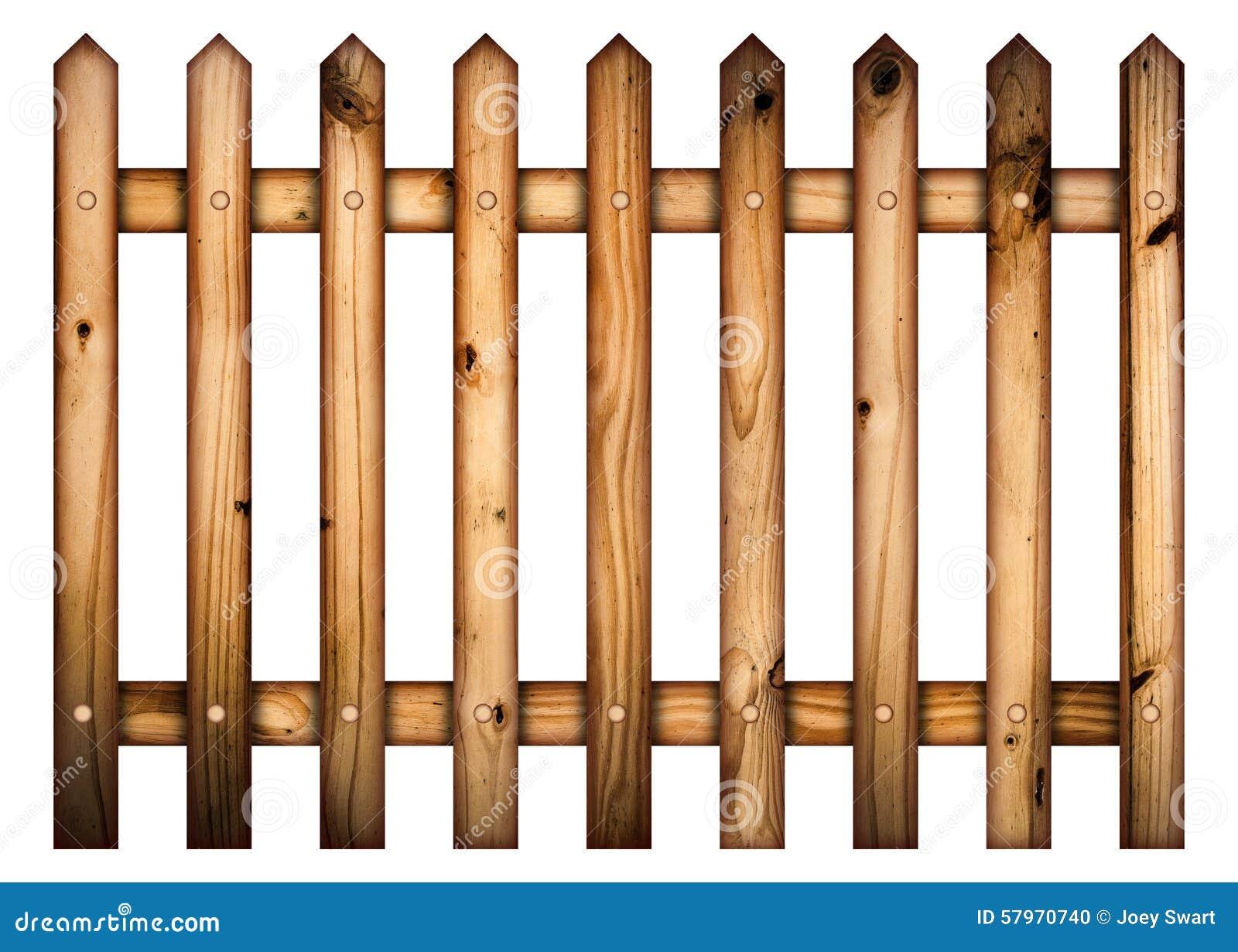 Valla de estacas de madera foto de archivo. Imagen de seguridad ...