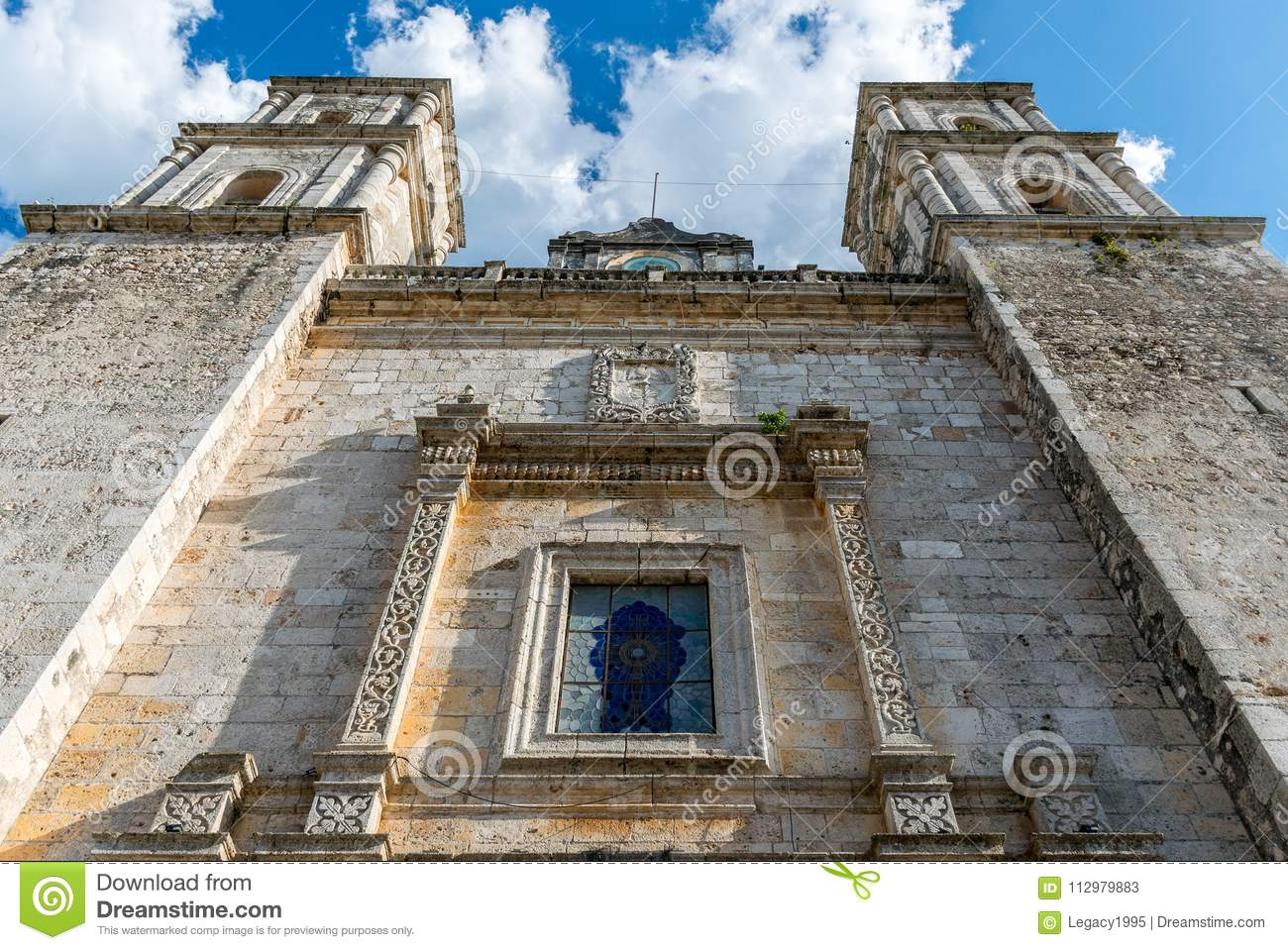 Cathedral of San Gervasio in Valladolid, Mexico
