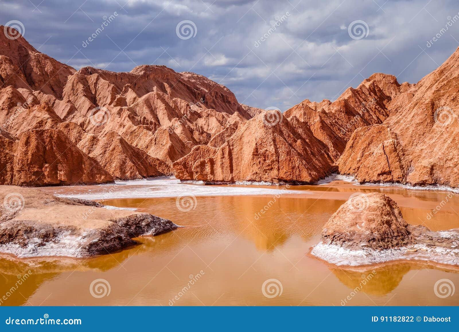 Valle De La Muerte En San Pedro De Atacama Chile Foto De Archivo Imagen De Rojo Bolivia 91182822