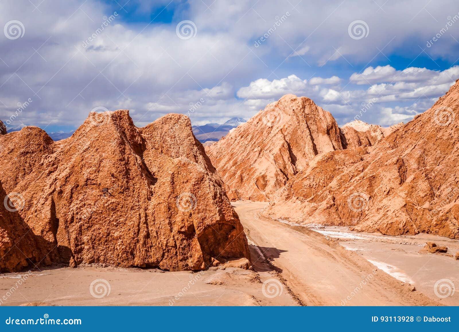 Valle De La Muerte En San Pedro De Atacama Chile Foto De Archivo Imagen De Pedro Arena 93113928