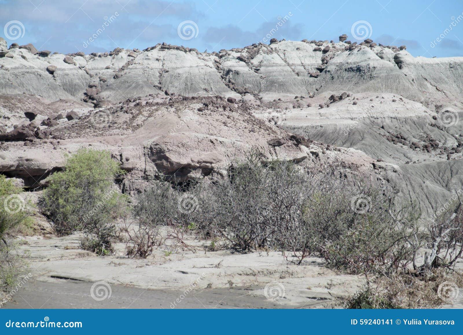 Download Valle Del Desierto De Ischigualasto Imagen de archivo - Imagen de erosión, solamente: 59240141
