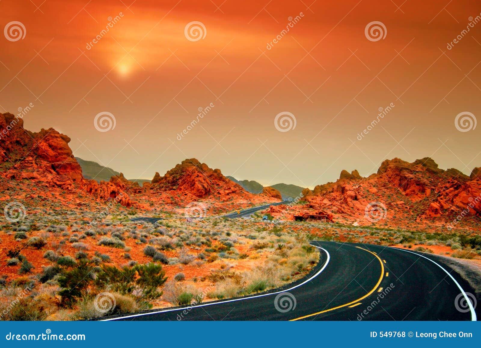 Valle del fuego, Nevada