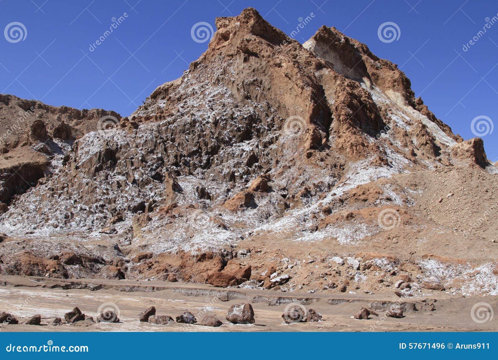 Valle del Luna - dolina księżyc w atacama, chile