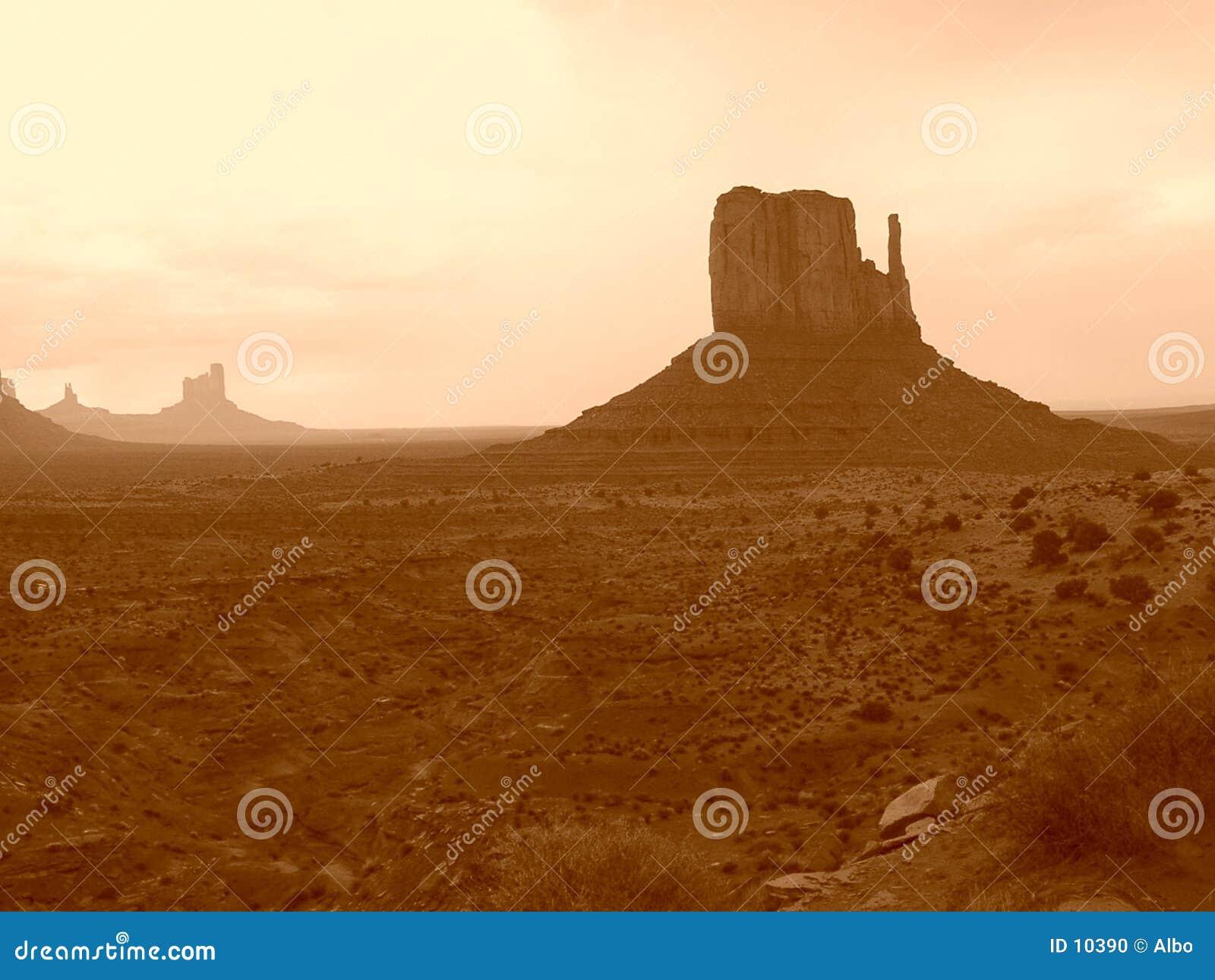 Valle del monumento