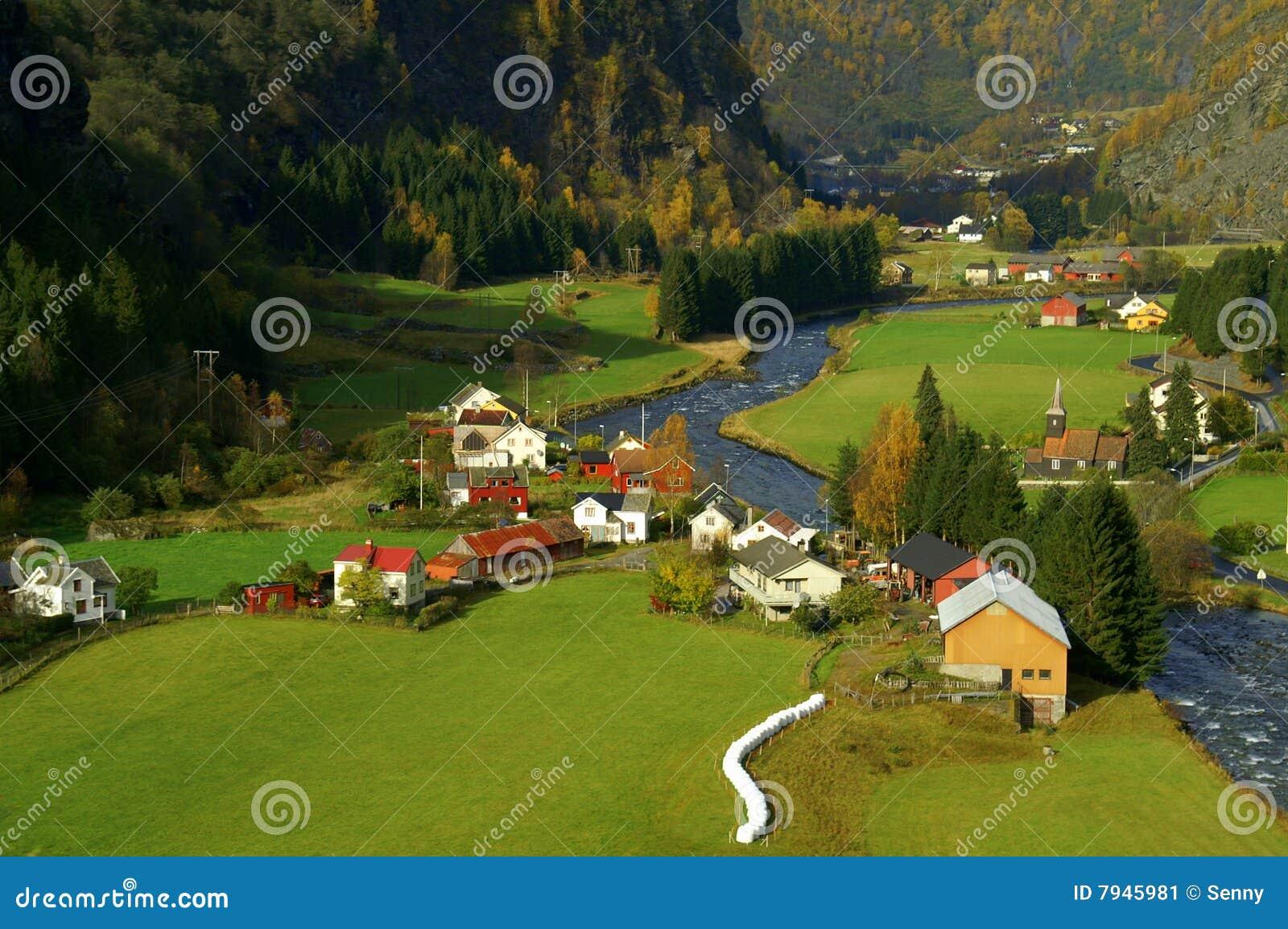 Valle Noruega de Flam