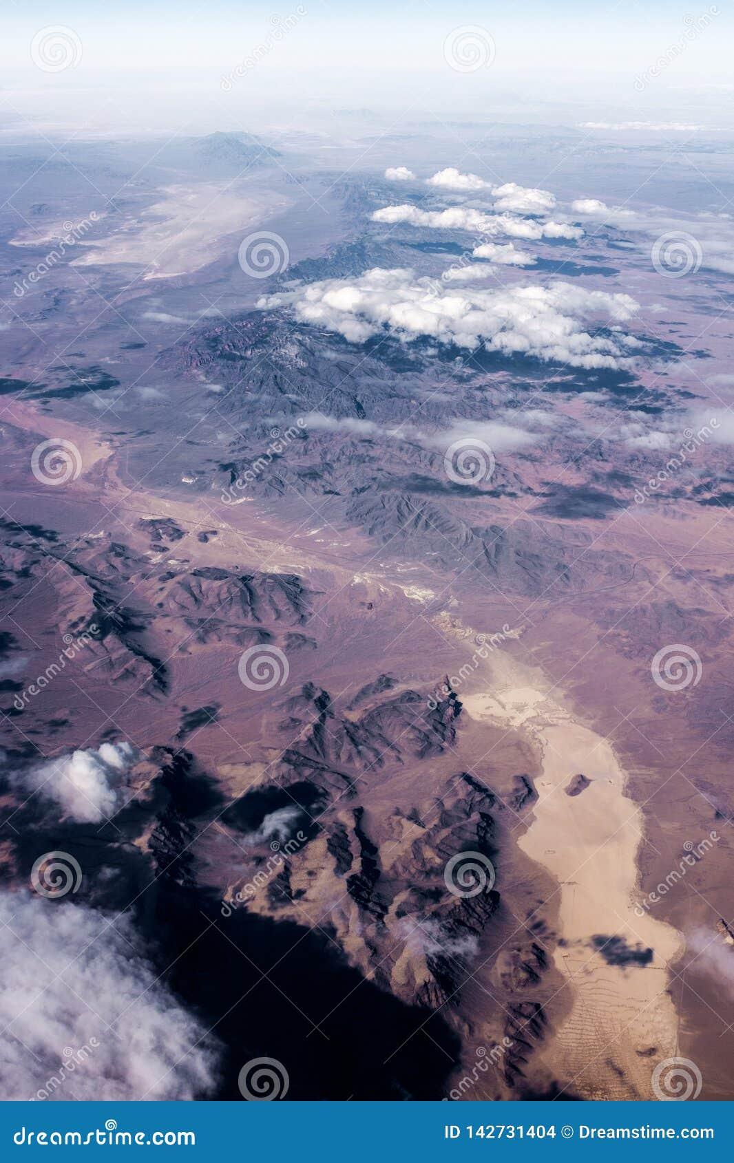Valle y montañas de Colorado