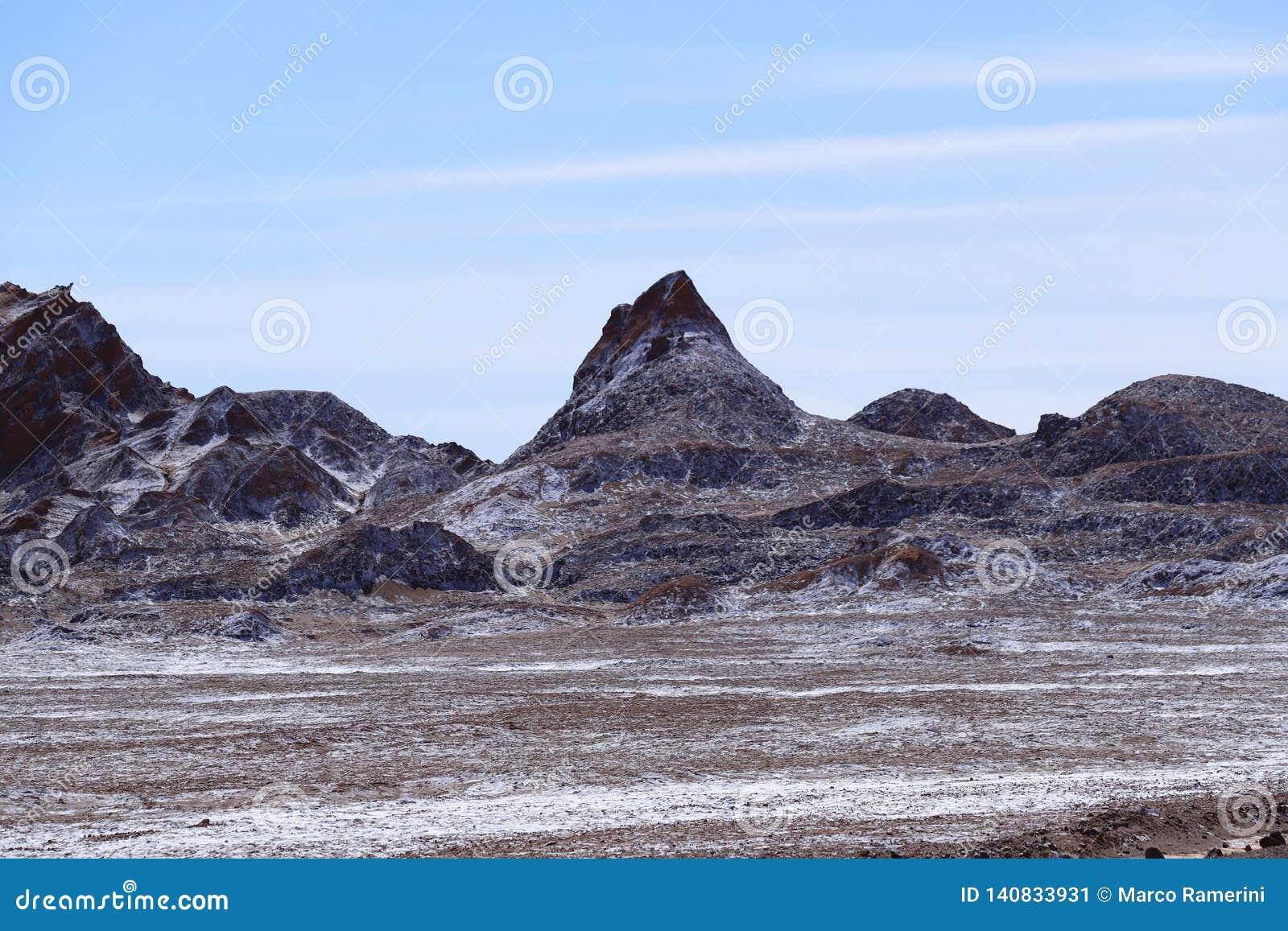 Vallei van de Maan - Valle DE La Luna, Atacama-Woestijn, Chili