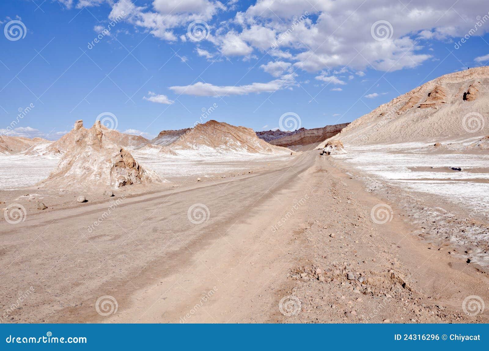 Vallei van de Woestijn van Atacama van de Maan Chili #7
