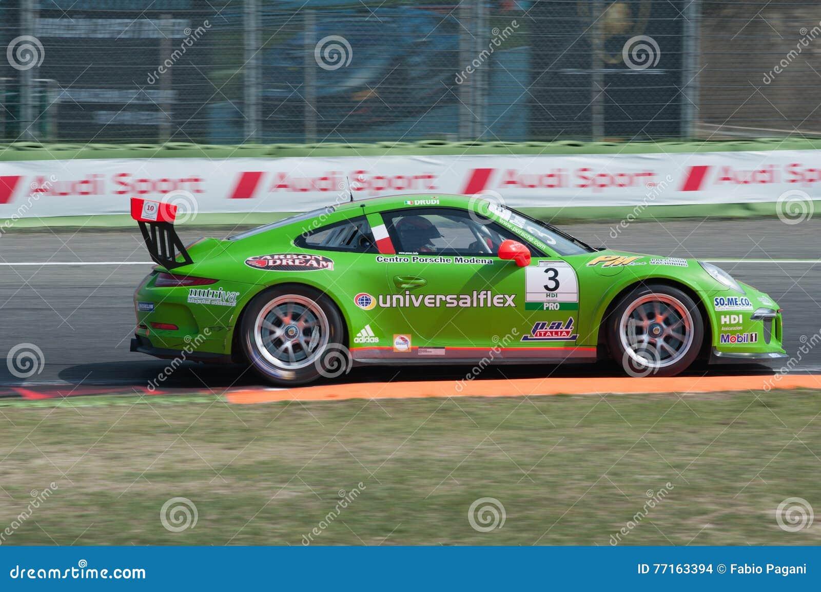Vallelunga, Rome, Italie 10 septembre 2016 Cu de Porsche Carrera