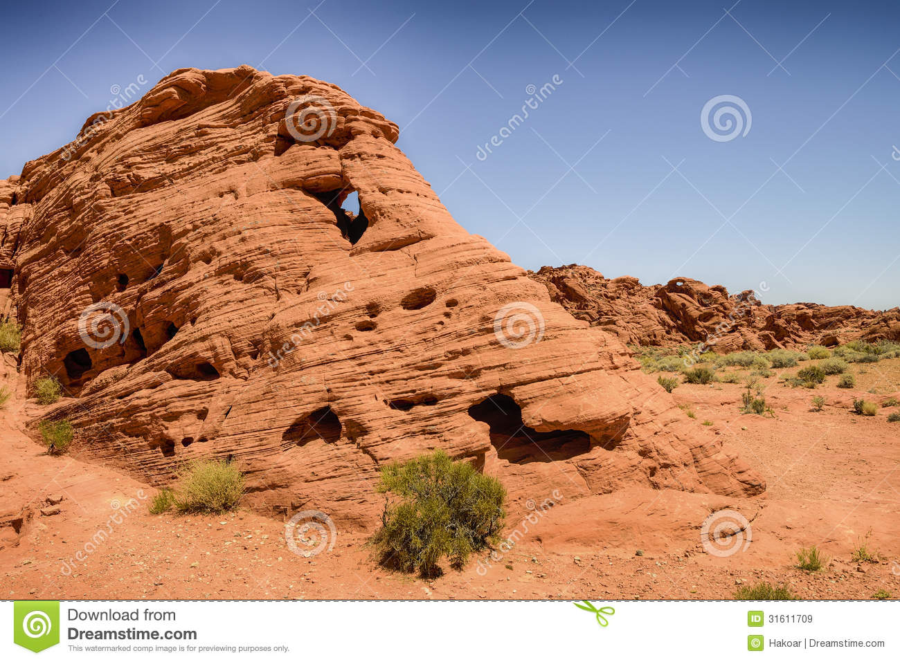 Valley Of Fire Nv Royalty Free Stock Images Image 31611709