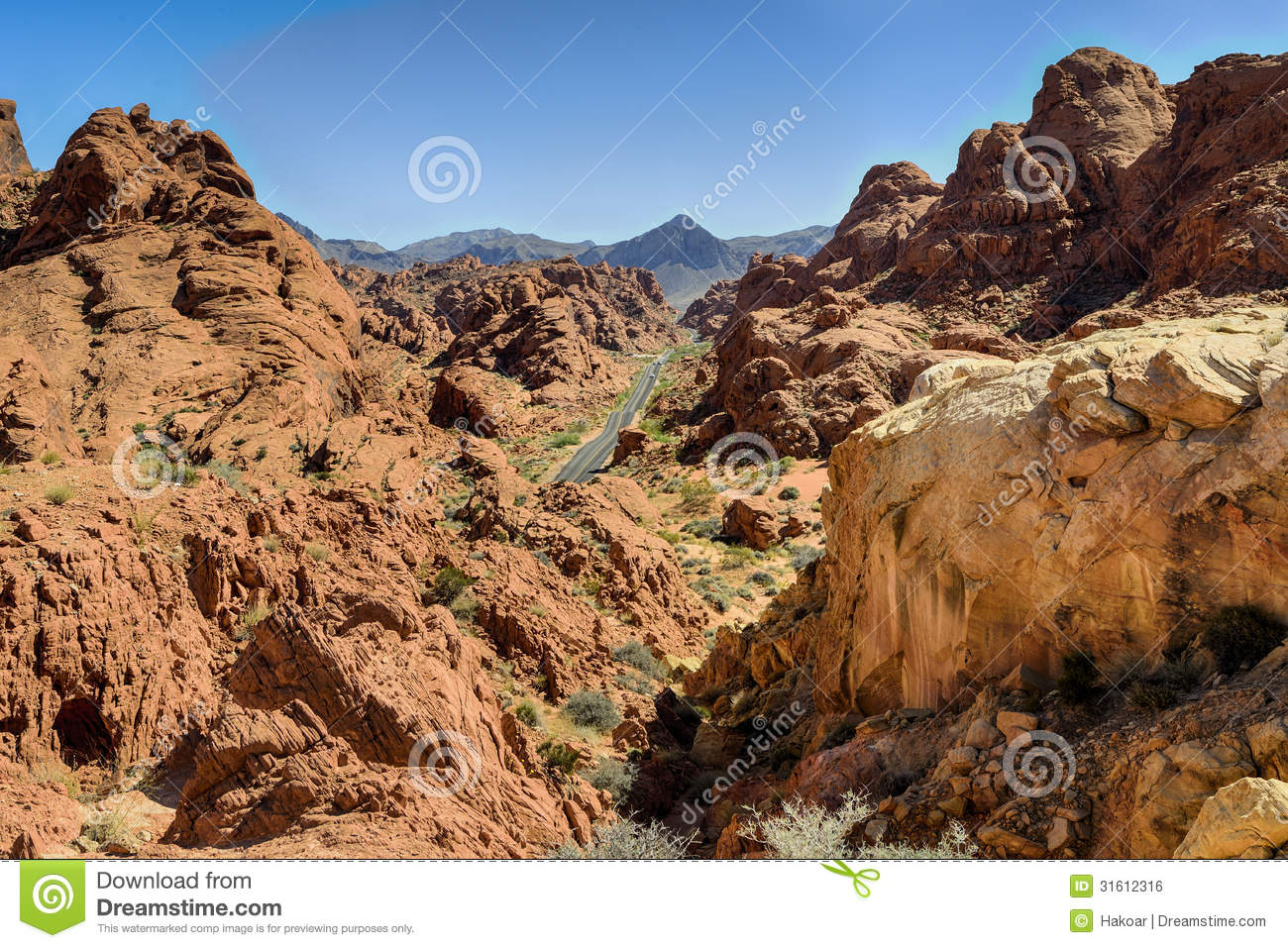 Valley Of Fire Nv Royalty Free Stock Image Image 31612316