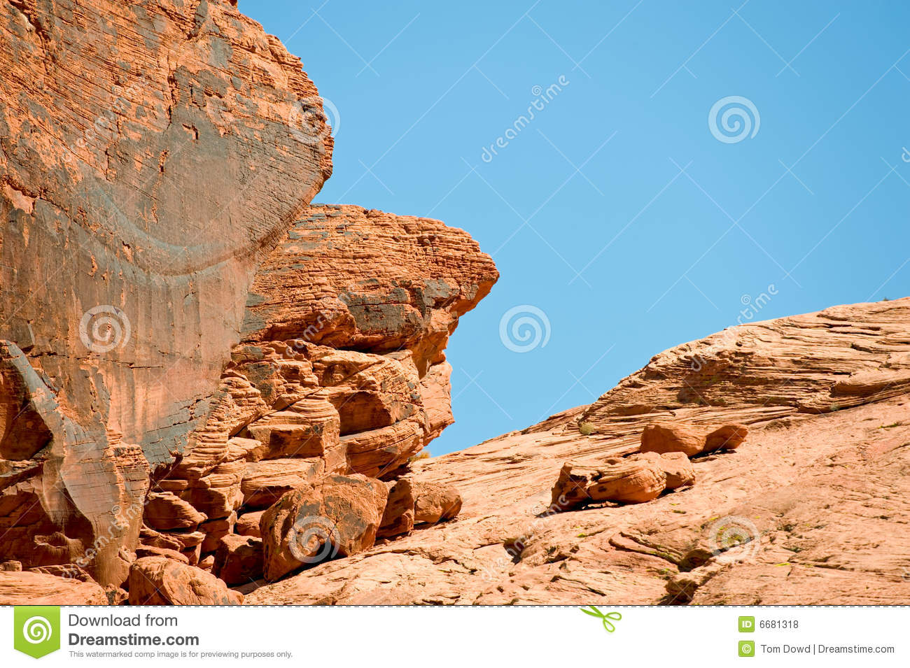 Valley of fire rock formations royalty free stock photos for Firerock fireplace cost