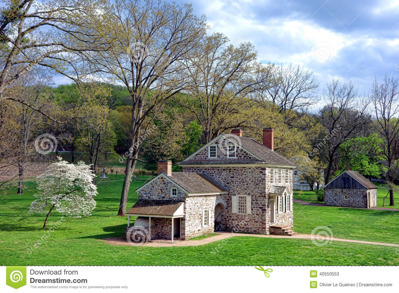 Valley Forge George Washington Headquarters Site