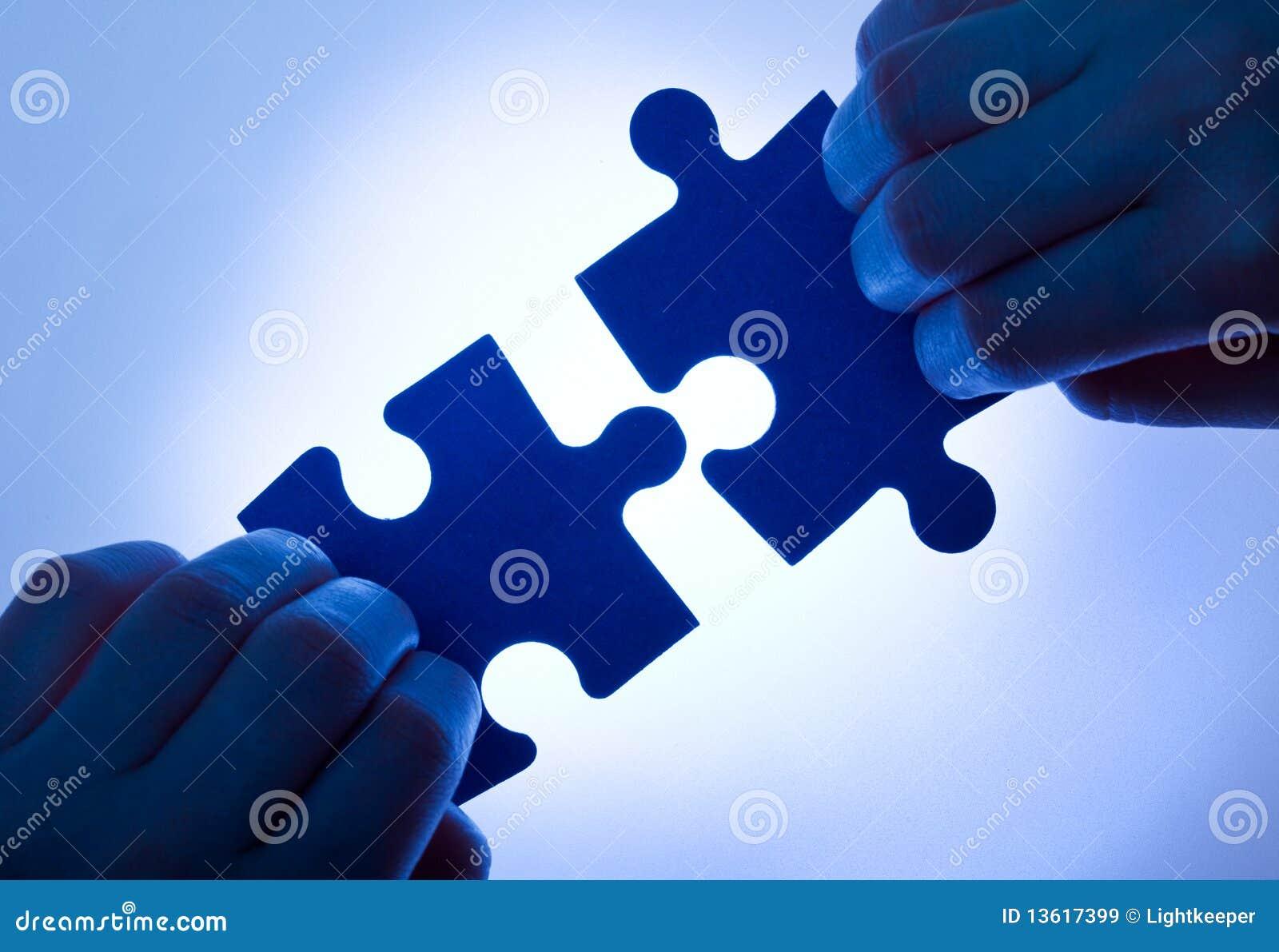 Valori di affari - concetto di lavoro di squadra