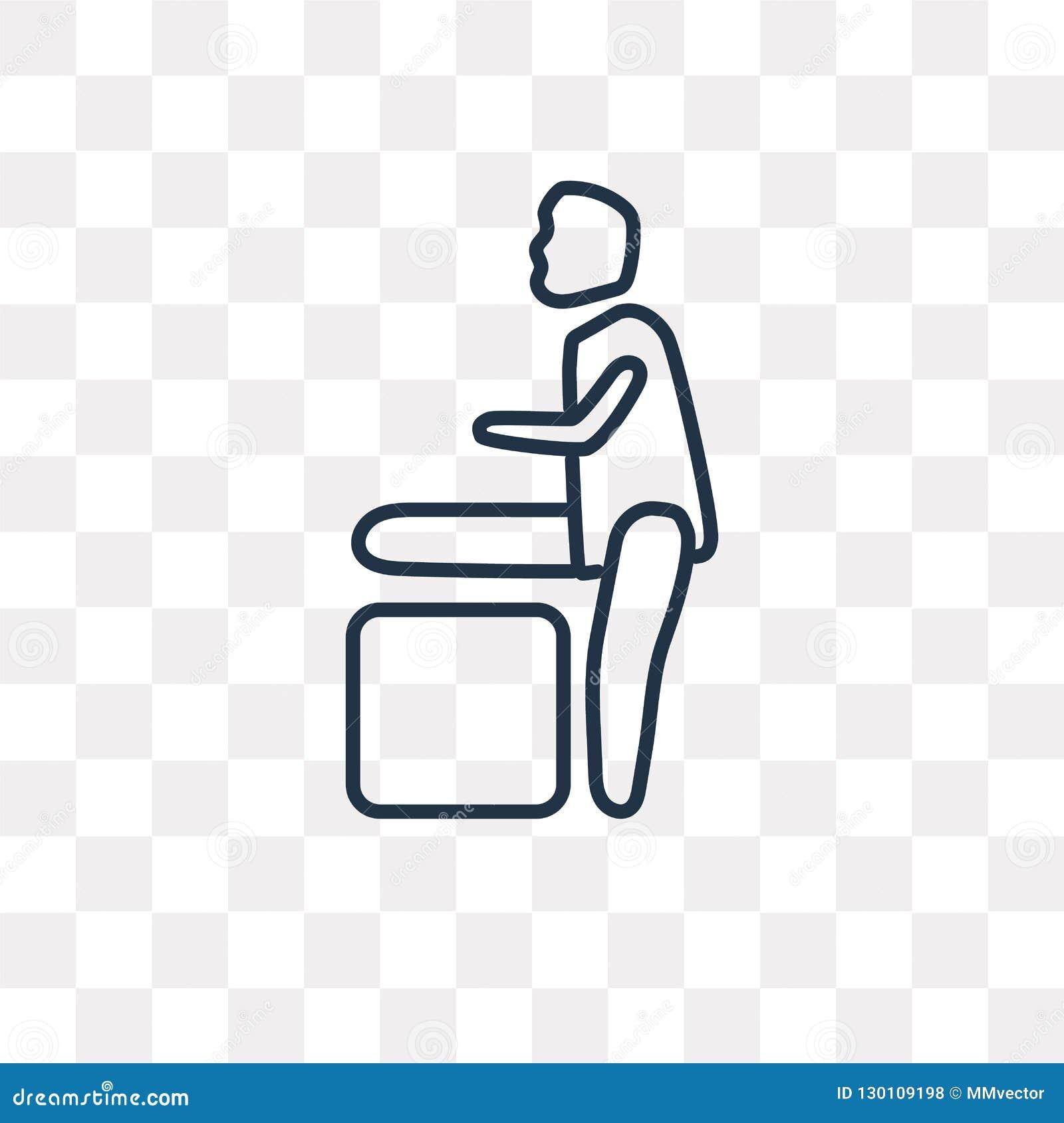 -VALUE Czerni wypełniającą wektorową ikonę odizolowywającą na przejrzystym backgr