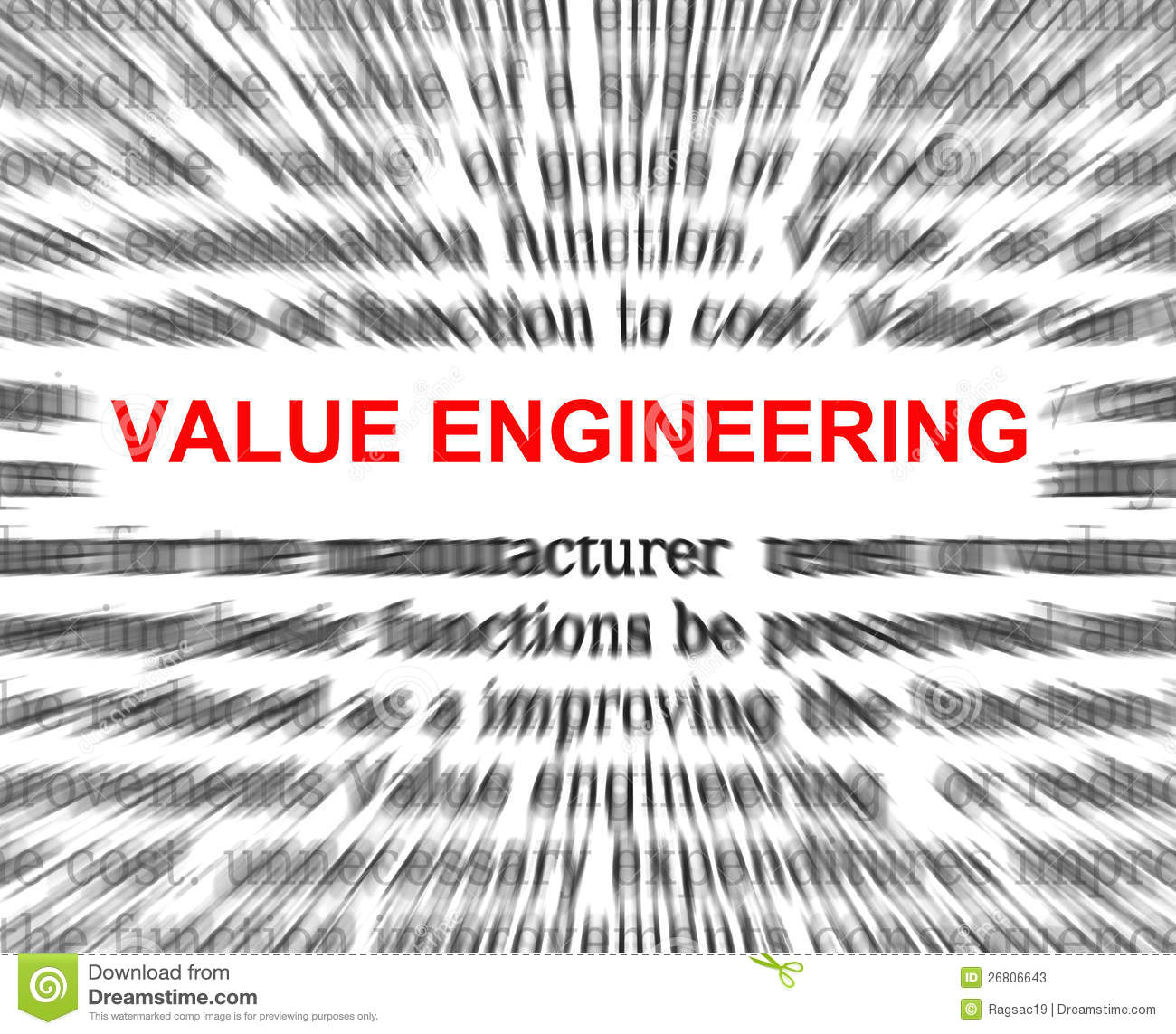 Value Engineering Stock Illustration Image Of Cause