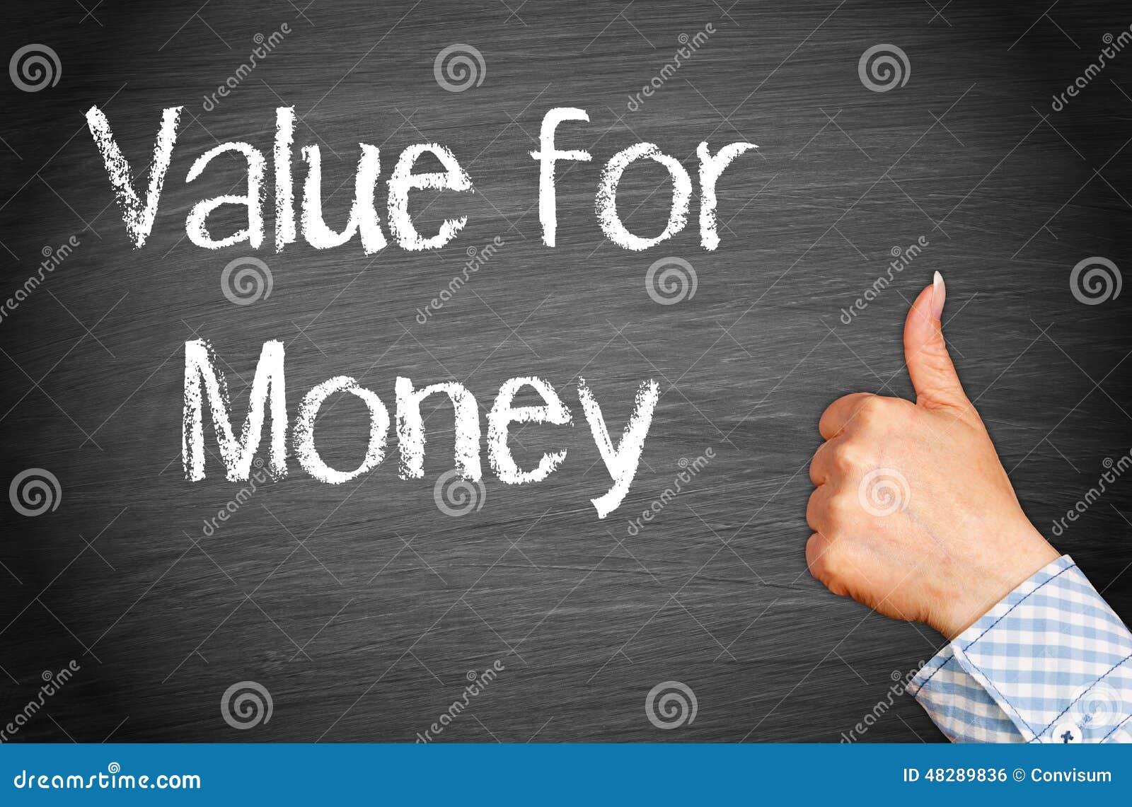 Value For Money Stock Photo. Image Of Merit, Writing
