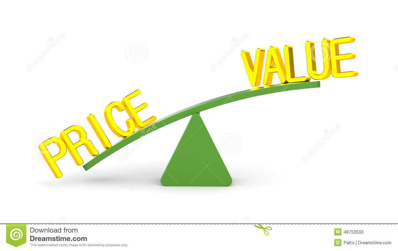 Value Or Price Stock Illustration - Image: 46913479