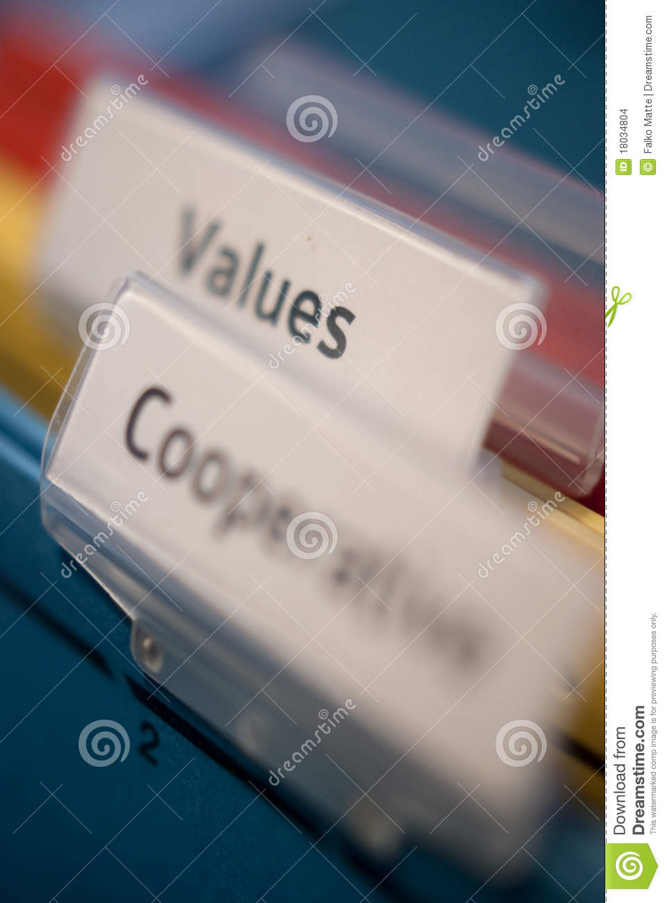 Values and Cooperative tags